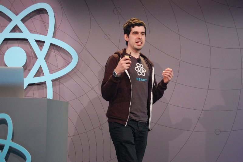 Christopher Chedeau, the ReactJS Conf organizer
