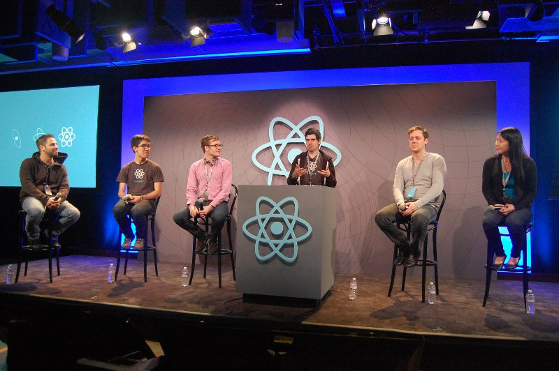 React.js team panel discussion