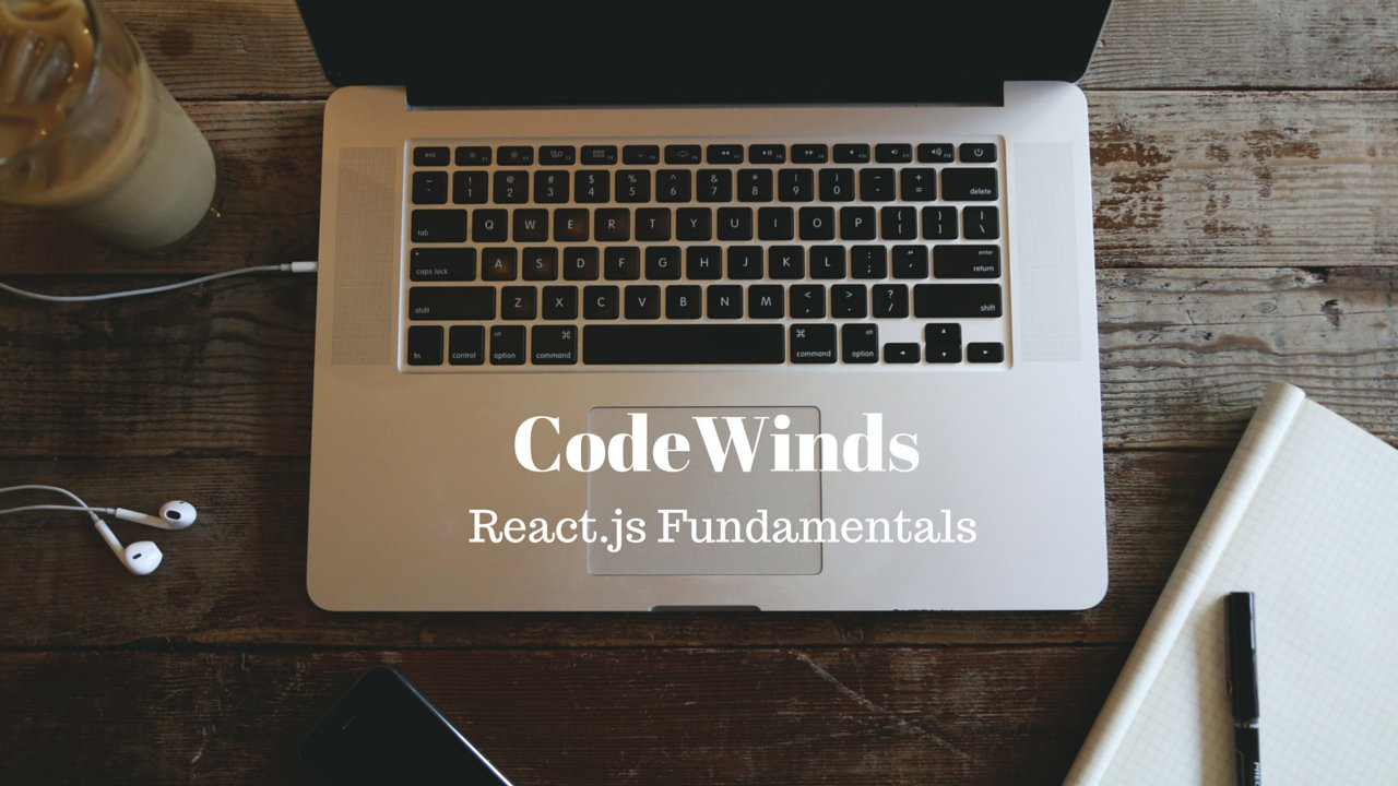 CodeWinds React.js Fundamentals